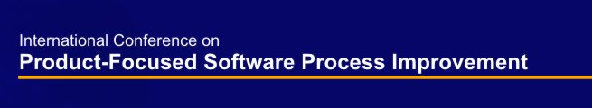 International Conference on Product-Focused Software Process Improvement